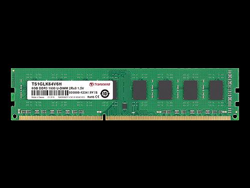 创见DDR3-1600 U-DIMM