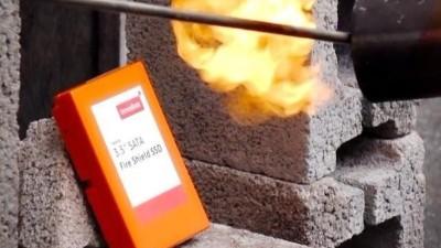 防火固态硬盘发布 可承受800摄氏度高温