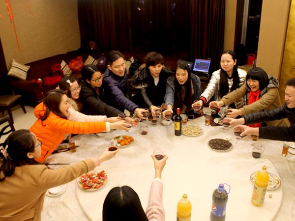 联乐实业-员工聚餐照