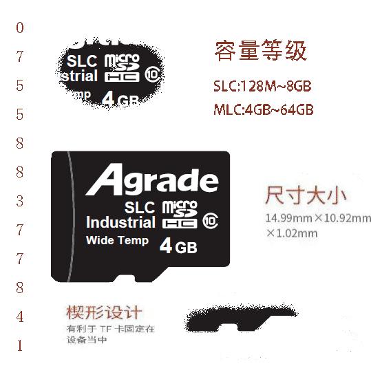 Agrade睿达工业级microSD卡