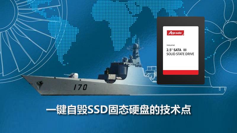 睿达发布军工级SSD一键自毁固态硬盘