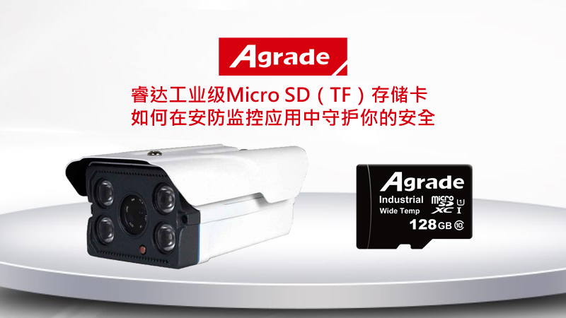 Agrade工业级Micro SD(TF)存储卡如何在安防应用中守护你的安全?