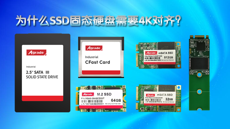 Agrade带你更加了解固态硬盘的4K