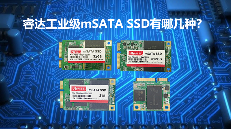 Agrade睿达工业级mSATA SSD有哪几种?