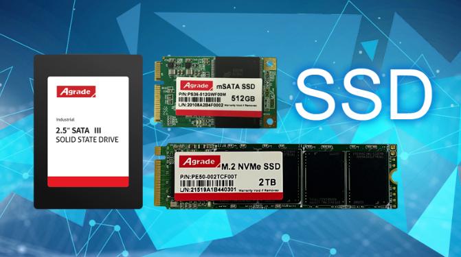 SATA、mSATA、M.2、NVMe M.2四种SSD固态硬盘的对比