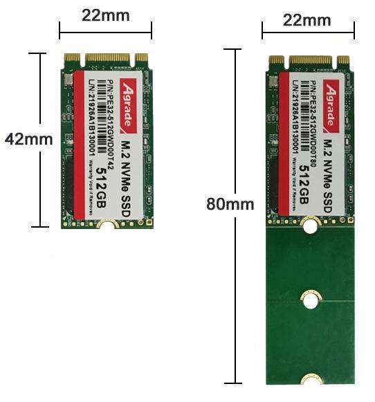 PCIe高度对比