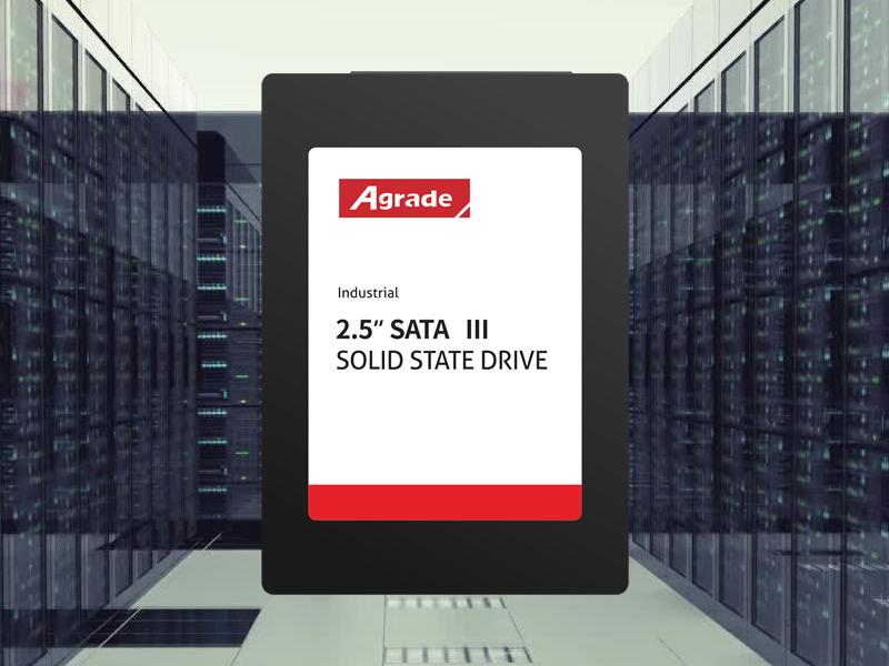 Agrade睿达SSD固态硬盘在服务器中的应用